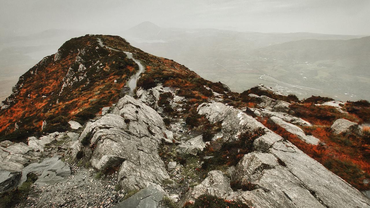 Diamond Hill im Connemara National Park