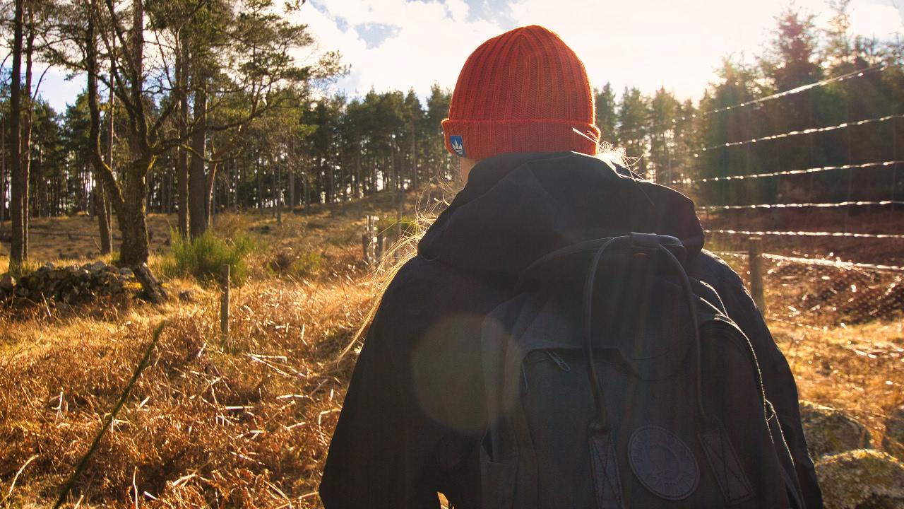 Fjällräven Kånken 2.0 Tagesrucksack in Schottland