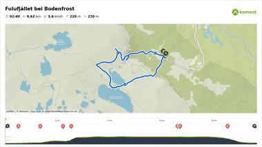 Fulufjället Nationalpark Wanderweg auf Komoot