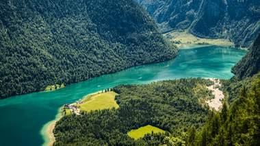 Rinnkendlsteig: Blick auf den Königssee