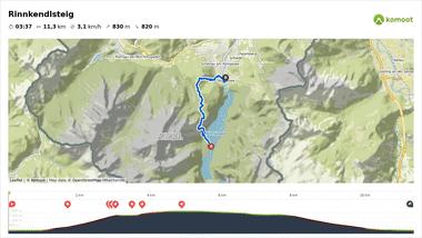 Rinnkendlsteig, Königssee Wanderung auf Komoot