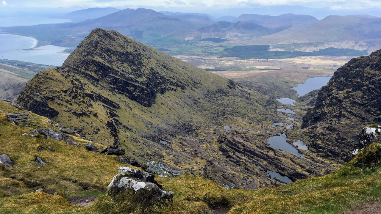 Blick vom Mount Brandon, Dingle Halbinsel
