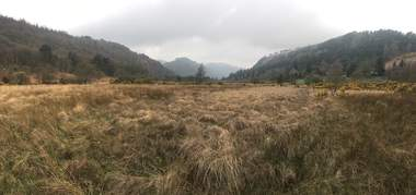 Glendalough Spinc Moor-Wanderung
