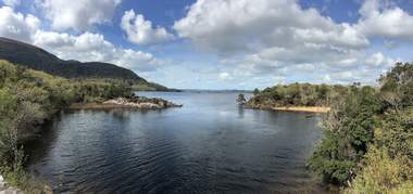 Blick über Muckross Lake im Killarney Nationalpark